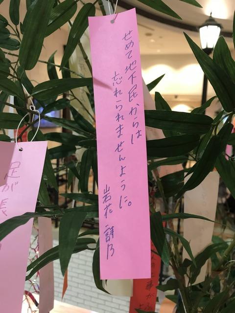 【悲報】博多の板長こと岩花詩乃の願い事が切ない・・・【HKT48】