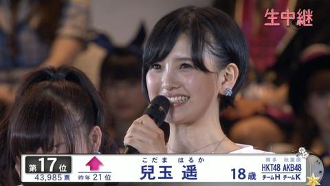 【HKT48】はるっぴ総選挙選抜入りほぼ確定のお知らせ【兒玉遥】