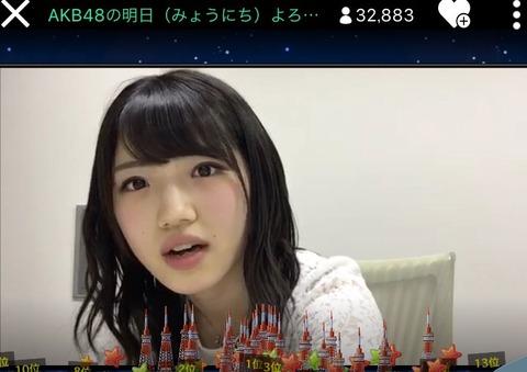 【朗報】村山彩希のSHOWROOMが凄い!!!【AKB48の明日(みょうにち)よろしく!】