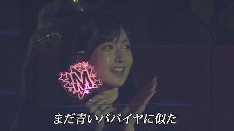 【悲報】NMB48太田夢莉卒コンで須藤凛々花がモニターに写る