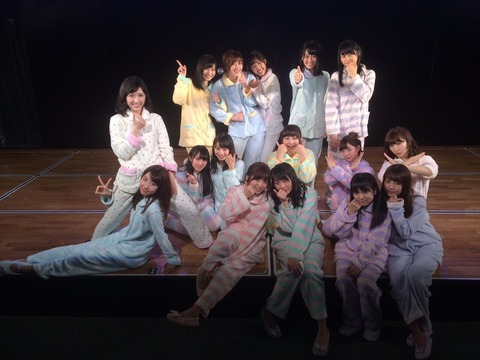 【AKB48】どうするんだチームB!正規12名、研究生と兼任入れても17名!
