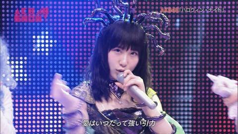 【AKB48SHOW】「ハロウィン・ナイト」ぱるるのアンダーに高橋朱里【キャプ画像あり】