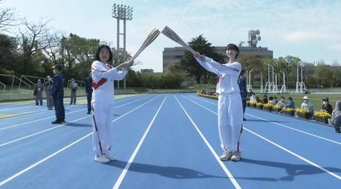 【朗報】松井玲奈さん、東京オリンピック聖火リレーで豊橋市のアンカーとして見事に完走