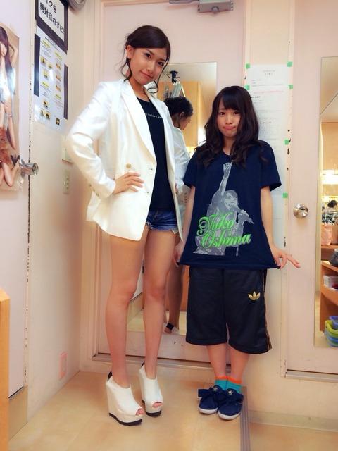 【AKB48G】ちんちくりんかわいい←誰が思い浮かんだ?