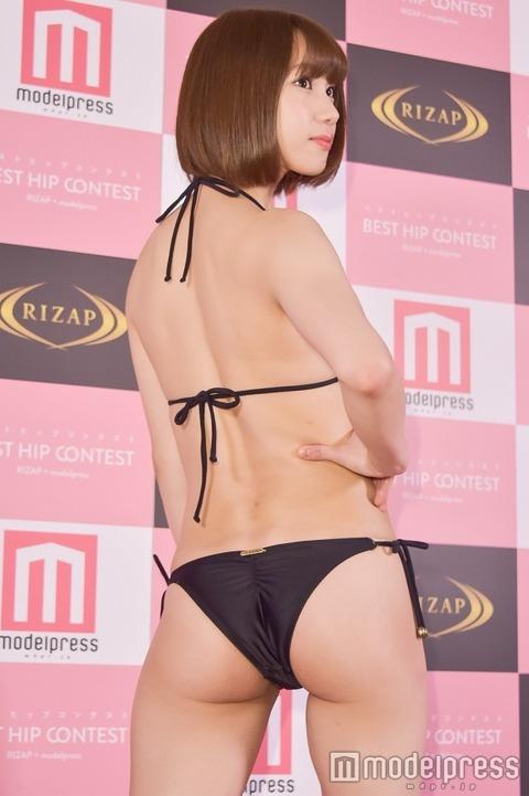 【元NMB48】高野祐衣が初代日本一美しいヒップグランプリ受賞!
