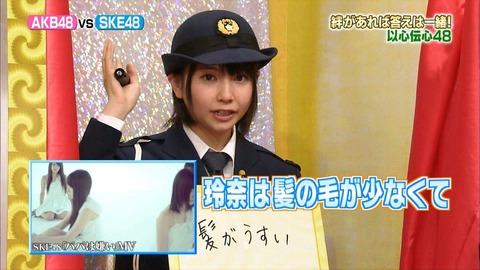 新規だけど、SKEにいた秦佐和子って今だと誰ぐらい凄かったの?