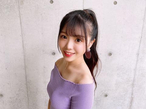 【朗報】NMB48にまたまたオッ〇イちゃん【貞野遥香】