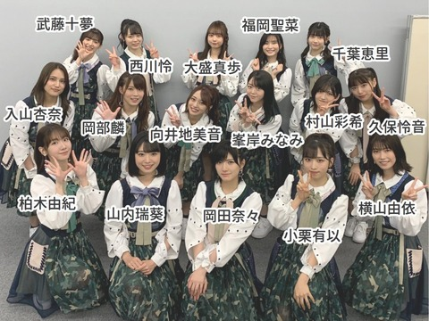 【AKB48G】推されていたのに伸び悩んで非選抜に転落したメンバーって…