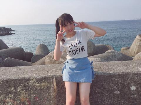【朗報】奈子ちゃん、成長して女の身体になる【HKT48・矢吹奈子】