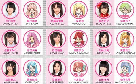 【AKB48G】メンバー「将来の夢は声優です」←は?