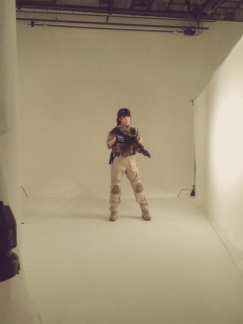 【NMB48】渋谷凪咲がアームズマガジンの表紙に!「あの世で待ち合わせやで!」