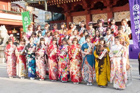 【AKB48G】成人式の写真序列を予想するスレ