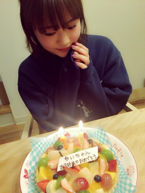 【朗報】HKT48穴井千尋が二十歳の誕生日会で初飲酒
