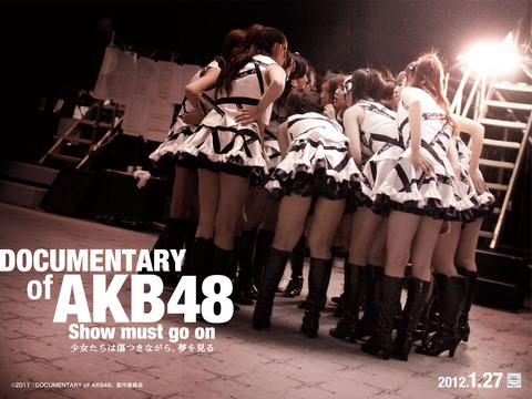 今さら「DOCUMENTARY of AKB48 」観てるんだが過呼吸の大島優子に酸素スプレー与えててワロタ