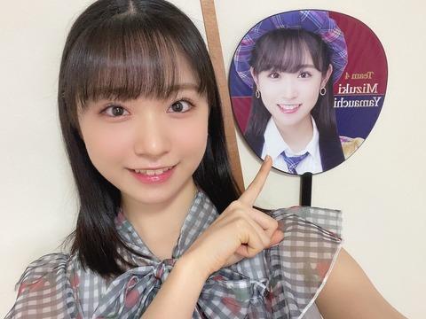 【AKB48】ずっきー「失恋、ありがとうには1票も入れませんでした」【山内瑞葵】