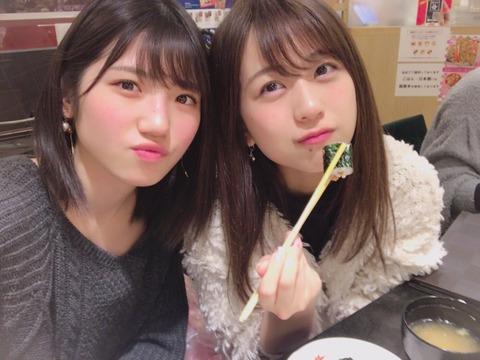 【AKB48】篠崎彩奈「ゆいりーと回転寿司行ったよ!必ず食べるのは納豆巻き」