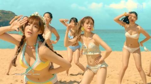 【動画あり】SNH48の水着MV「サマーパイレーツ」が巨乳美少女だらけでヤバイと話題に!!!