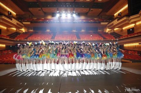 AKB48・SKE48・NMB48の3グループだけだった頃って最高だったよな