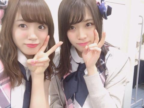 【AKB48】市川愛美「今日は3回ぐらい飯野雅に間違えられて『卒業しないで』って言われました。私は卒業しません」