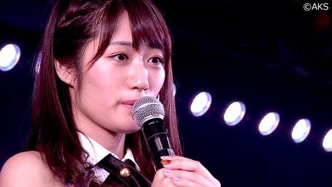 【AKB48】藤田奈那が劇場公演にて卒業発表