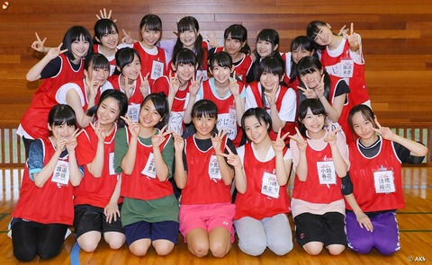 【NGT48】新潟のテレビ局、ついに研究生合宿まで放送してしまうwww