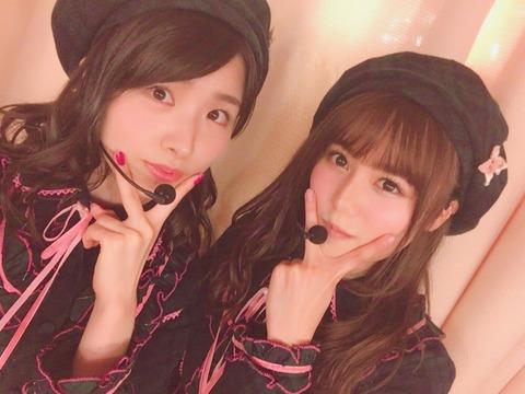 【AKB48】こみはる、顎隠しのポーズを気に入るwwwww【込山榛香】