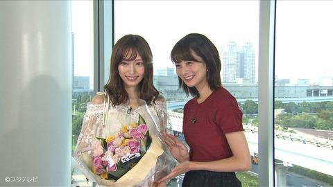 【朗報】山口真帆ちゃん、今日のめざましテレビに出演!