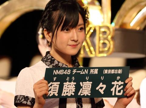 【NMB48】須藤凜々花の握手会を12/24分まで受付するとか舐めてんの
