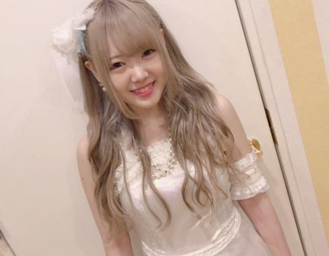 【SKE48】スゴイ髪の色した子がいるんだが!!!【白雪希明】