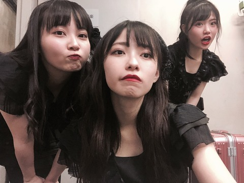 【悲報】NMB48石塚朱莉「握手会がないストレスで3キロ太りました」【あんちゅ】