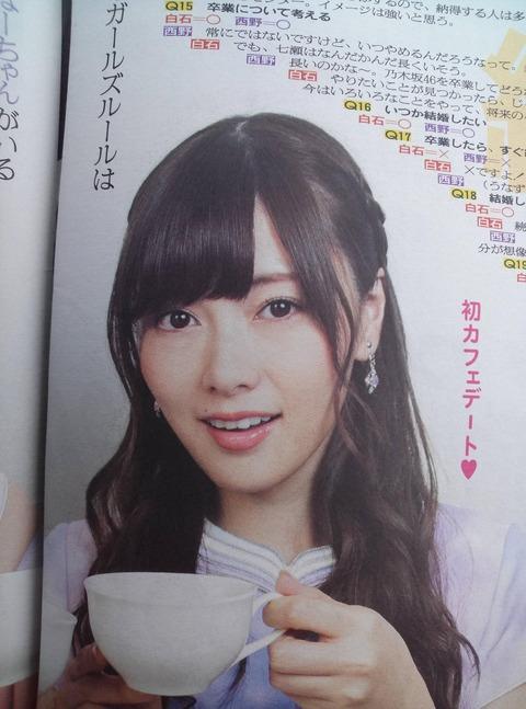 【HKT48】指原莉乃の奇跡の一枚が乃木坂白石にソックリだと話題に