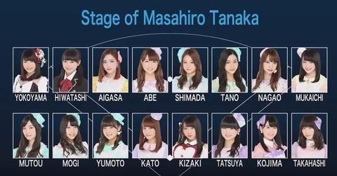 【AKB48】田中将大「僕がここにいる理由」公演千秋楽がいまさら開催決定【12/27】