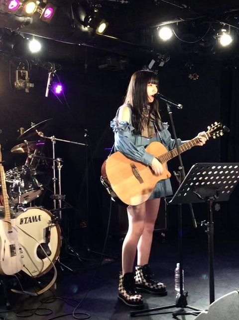 【元AKB48】シンガーソングライター長久玲奈さんにギター仕事!!!