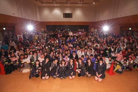 【AKB48】心ないネットの中傷に負けず被災地支援継続