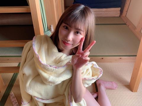 【画像】NMB48石田優美がお〇ぱいグラビア!