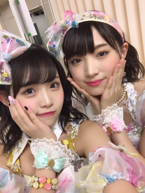 【NMB48】この離れ目コンビがクソ可愛い!【太田夢莉・植村梓】