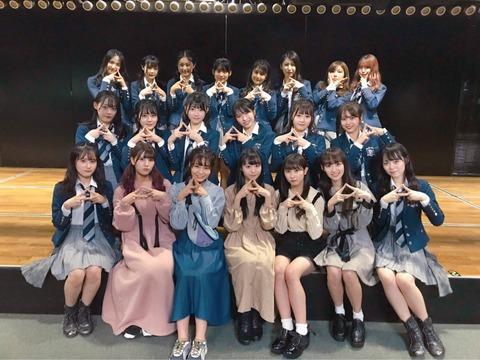 【=LOVE】AKB48劇場公演に見学に来たイコラブちゃんがこちら