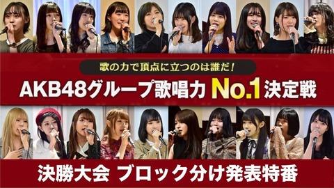 【AKB48G】実際のところ生歌って必要なんだろうか?