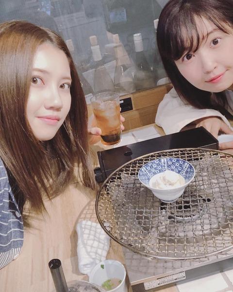 【SKE48】北川綾巴ちゃんが年上メンバーとデート