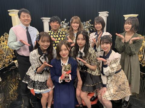 【悲報】NMB48の冠番組「さえぴぃのトップ目とったんで!」が乃木坂に奪われてしまう