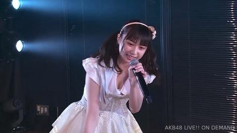 【画像】AKB48山田杏華ちゃんの谷間きたあああああああああああああああ!!!