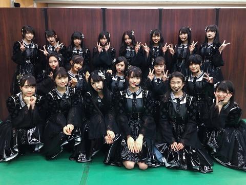 【ベストヒット歌謡祭】小嶋花梨センター新生NMB48の「絶滅黒髪少女」がオリジナルを越えたカッコよさ!