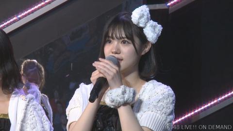 【HKT48】田中優香、劇場公演にて卒業発表