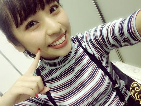 【合法ロリ報】サスペンダーやまりなに悶々とする正午過ぎ【NMB48・山尾梨奈】