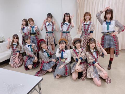 【悲報】エイターさん「パンツ見せてくれないなら推すのやめます」【AKB48・チーム8】