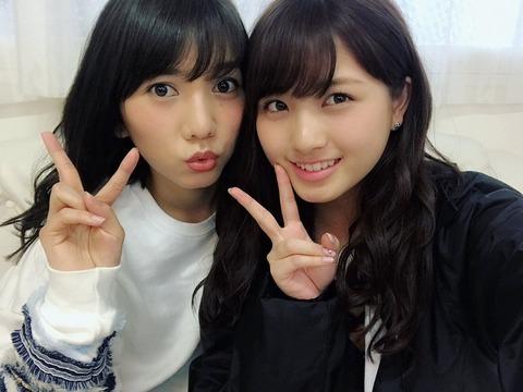 【元AKB48】大和田南那が高城亜樹となにやら撮影を行った模様