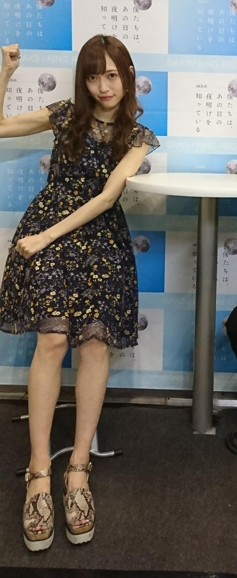 【悲報】NGT48山口真帆さんが痩せすぎてて心配