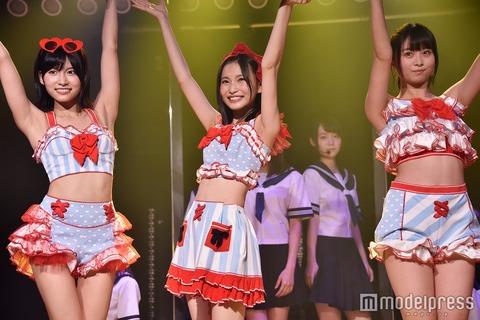 【AKB48】この3人の脇を劇場の前から3列目以内で見たい!!!