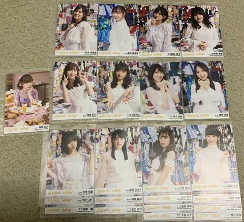 【AKB48】「ジワるDAYS」生写真のヤフオク落札額が実人気を反映していると話題に