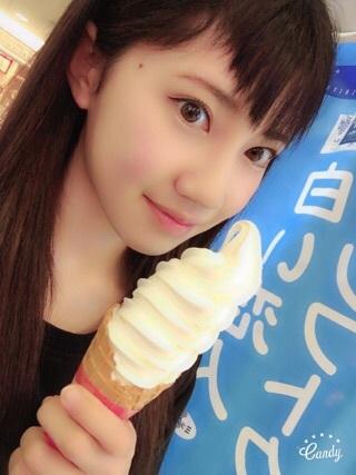 【SKE48】北川綾巴ちゃんの食ベかけのソフトクリームが欲しい